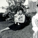 Peggy Chaney with unknown baby