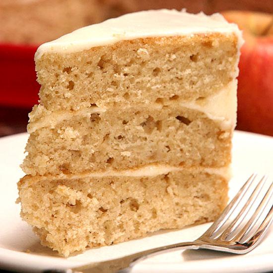 Three Layer Applesauce Cake