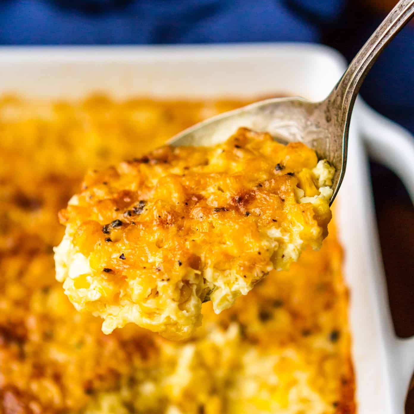 Baked Cream Corn Casserole