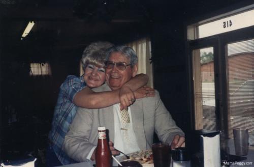 Loretta Chaney and Sen. Ollie Harris